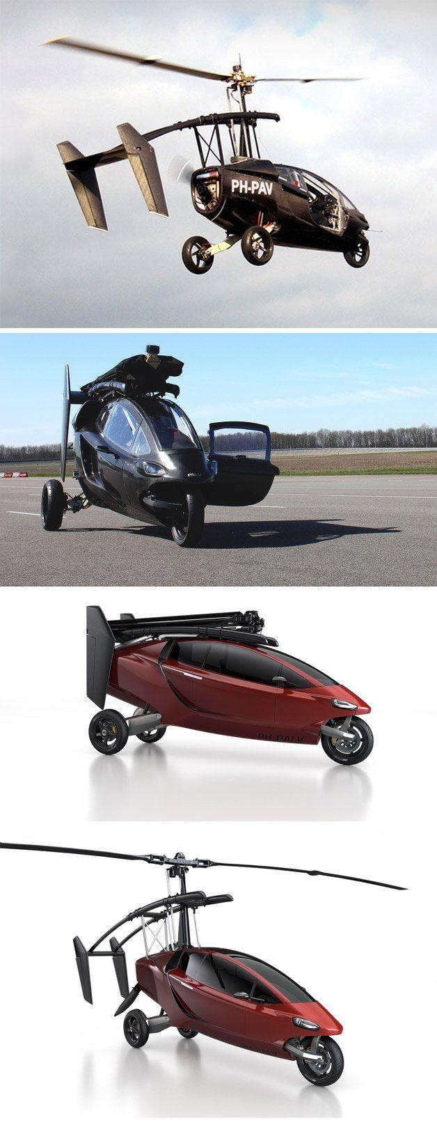 Juntando os benefícios de um carro e um helicóptero em um só veículo o PAL-V mostra como será o nosso futuro. Se a fabricante conseguir que o produto tenha um preço acessível, nós veremos muita gente voando até o seu trabalho e diversos helipontos espalhados pelas grandes cidades.