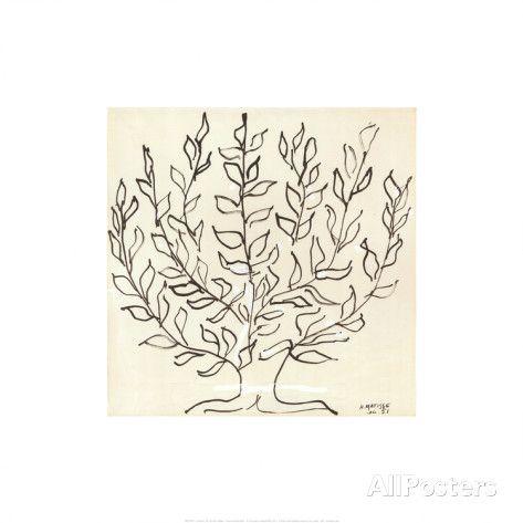 Le Platane Schilderijen van Henri Matisse bij AllPosters.nl