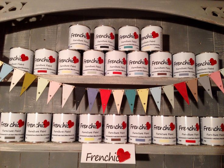 The Frenchic Furniture Paint online store is now open for business, where you can buy a whole range of furniture paint, finishes and waxes!