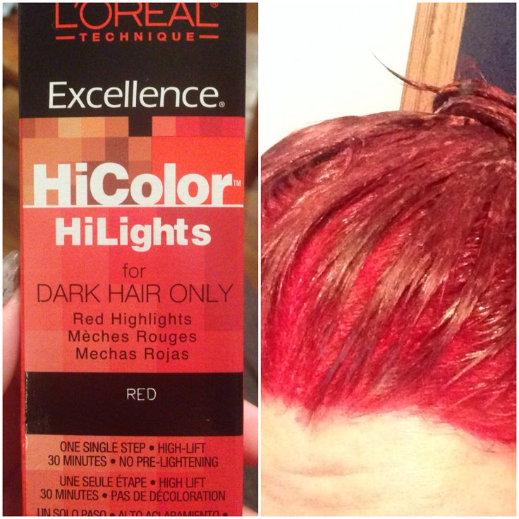 My New Favorite Hair Color Dye L39oral HiColor HiLights For Dark Hair I