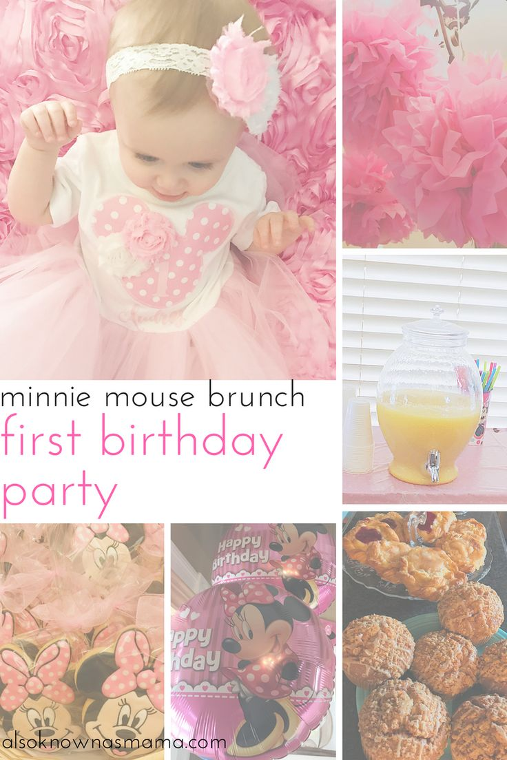 First Birthday Party Brunch | First Birthday on a Budget | Cheap and Easy Party | Minnie Mouse First Birthday