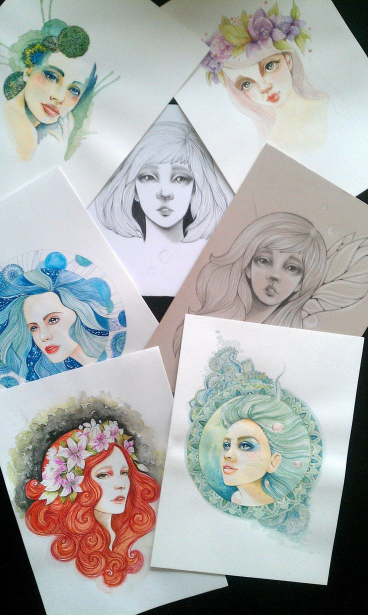 Here are some of my works  Some sketches, water colour painting and colour pencil drawings. Soon they will be looking for new home.