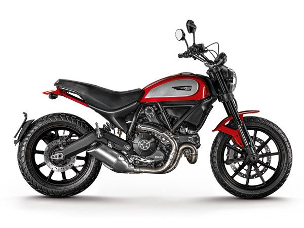 Ducati Scrambler Icon. The New Motorcycles You Need to Know for 2015