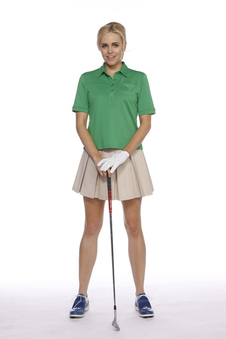 Women S Golf Polo And Pleated Skort By Kevan Hall Sport