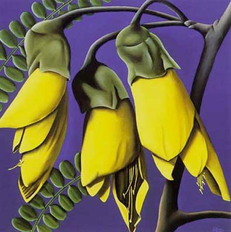Kowhai by Diana Adams. The kowhai tree has yellow flowers and kowhai is also the…