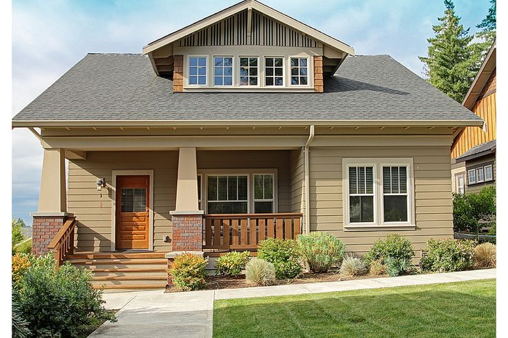 Craftsman 3 Beds 2.5 Baths 1905 Sq/Ft Plan #461-31 Front