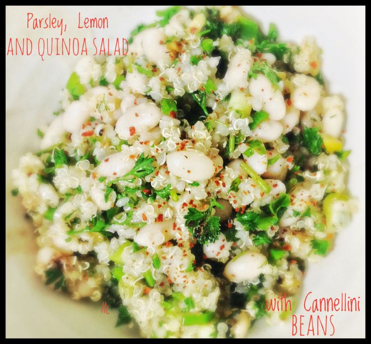 Quinoa, Herb and Lemon Salad