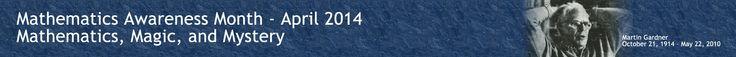 Mathematics Awareness Month - April 2014 - Sample Press Release