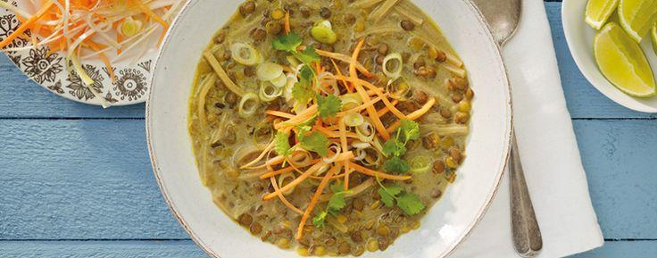 Linssoppa med thaismak - Recept - GoGreen