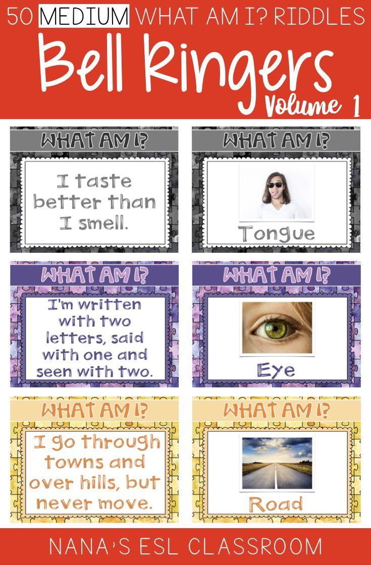 Looking For Engaging And Challenging Bell Ringers This Resource Includes 50 What Am I Riddles They Are Medium D Brain Teasers Brain Teasers For Teens Riddles