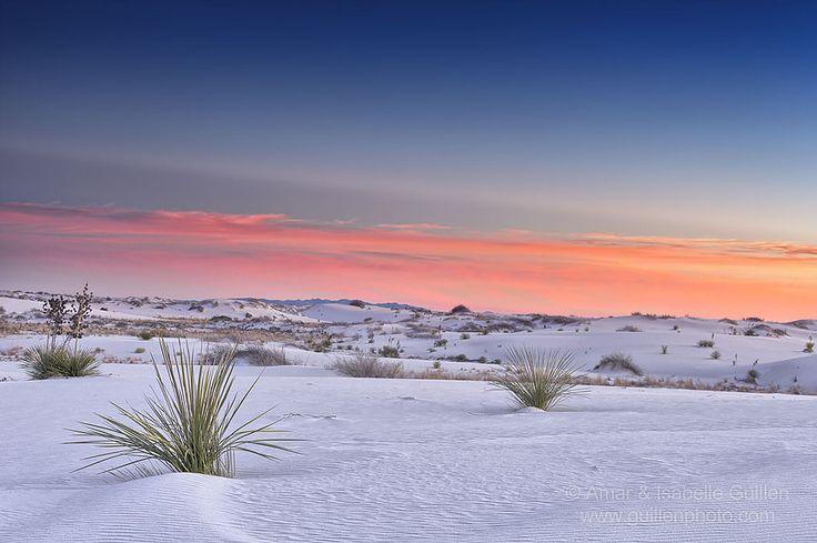 Le désert White Sands du Nouveau Mexique aux Etats Unis | Globe-Trotting, préparez-vous à voyager !