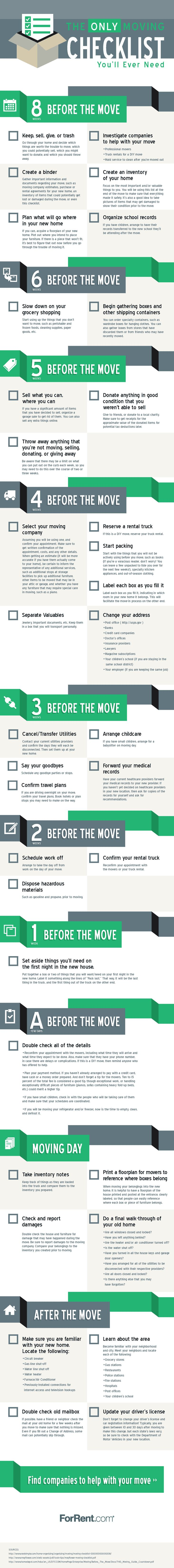 Download the Moving Checklist printable PDF to help with your move.