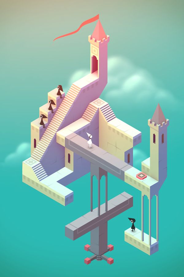 Monument Valley – Capture d'écran arcade, game, retro
