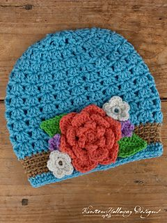 Ravelry: Bouquet Ladies Slouch Hat pattern by Kirsten Holloway