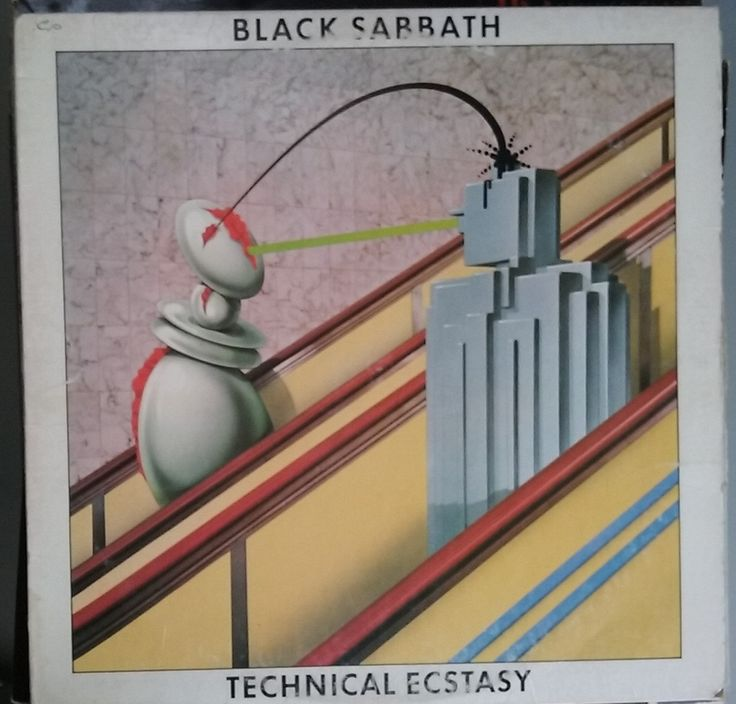 Black Sabbath, Technical Ecstasy, Vintage Record Album, Vinyl LP, Classic Heavy Metal Rock and Roll, British Rock Band, Ozzy Osbourne by VintageCoolRecords on Etsy
