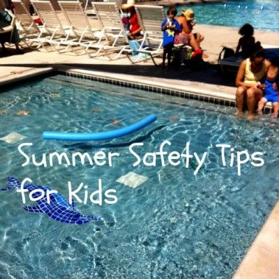 Summer Safety Tips for Kids - TodaysMama.com