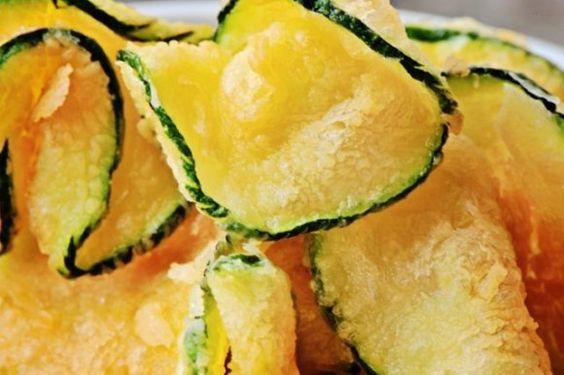 Chips di zucchine