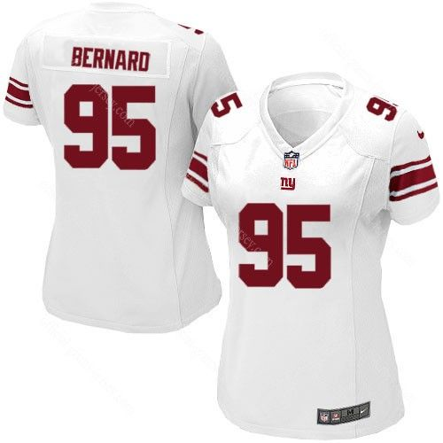 rocky bernard white jersey 95 elite women nike new york giants nfl jersey stitched sale nfl