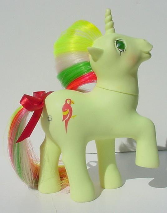 Mimic, a rare Twinkle-Eyed unicorn
