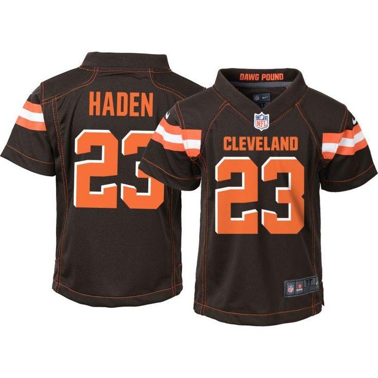 Nike Toddler Home Game Jersey Cleveland Joe Haden #23