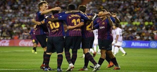 Barcelona X Valladolid Ao Vivo Online Campeonato Espanhol