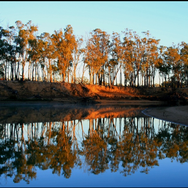 Up river Echuca Australia