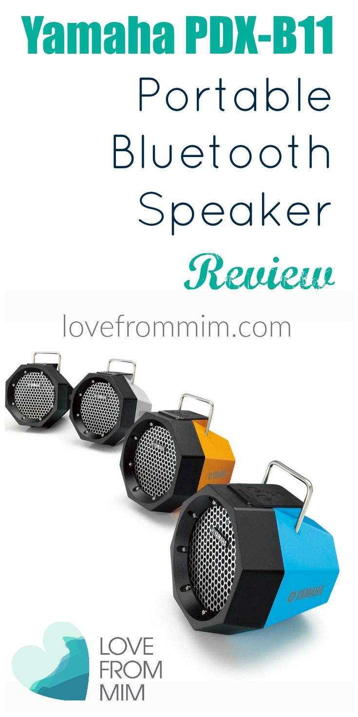 Yamaha PDX-B11 Speaker Review - lovefrommim.com Love from Mim Best Portable Speaker Best Bluetooth Speaker Lightweight portable speaker Yamaha Speaker Best Yamaha Speaker Outdoor Bluetooth Speaker