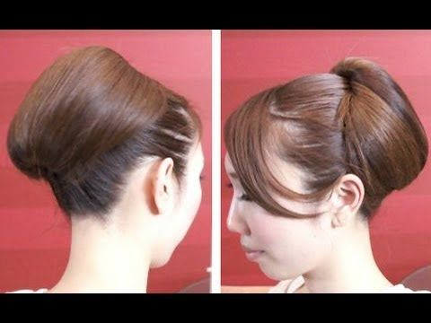 Elegant Easy party updo hairstyles tutorial ☆簡単上品パーティーヘアスタイル / 横田奈津子 Elegancy エレガンシー - YouTube