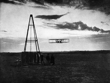 Orville + Wilbur Wright @ Kitty Hawk