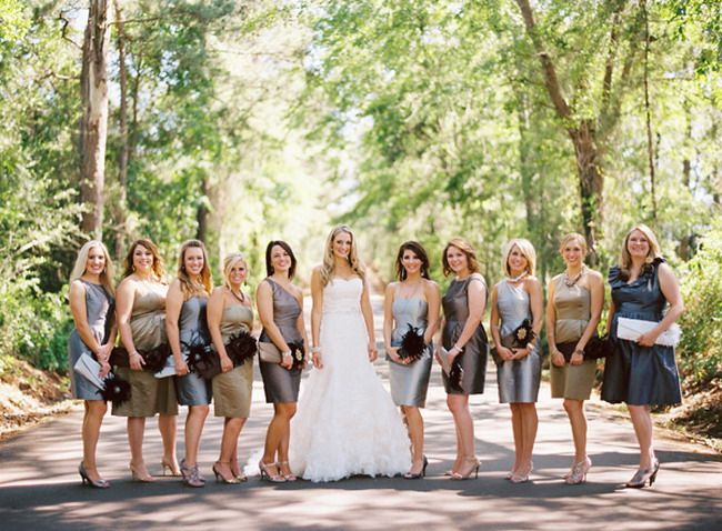 alternatives to bridesmaids carrying flowers bouquets | My Web Value