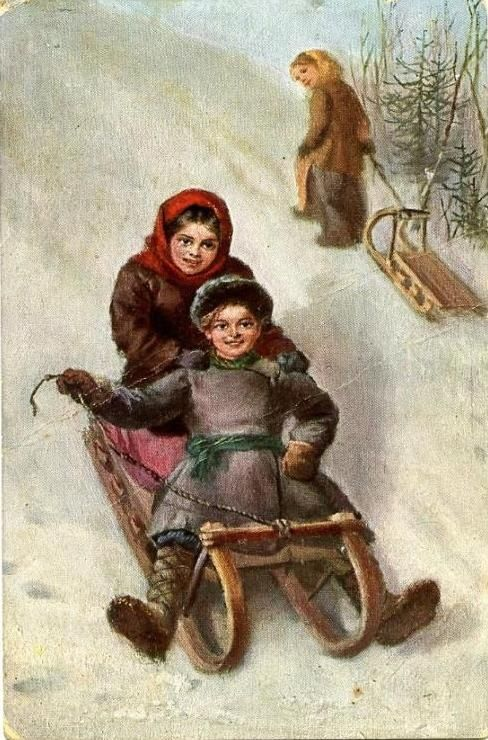 Старинные русские открытки (214 открыток)