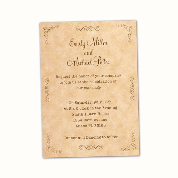 Best Anniversary Invitations Images On   Birthday