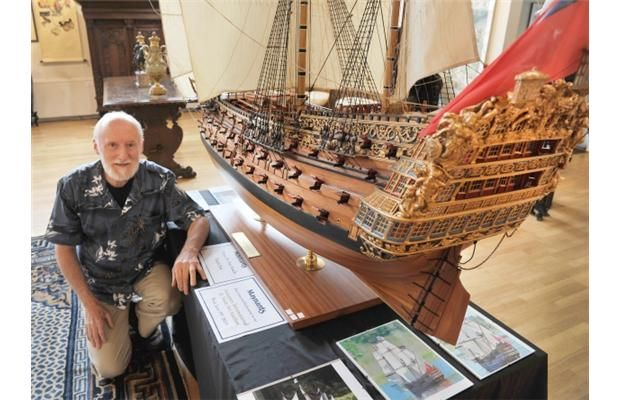 Photos: Vancouver model-builder's warship a 6-year labour of love