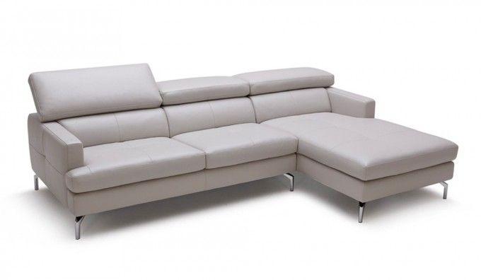 Renzo Leather Corner Sofa