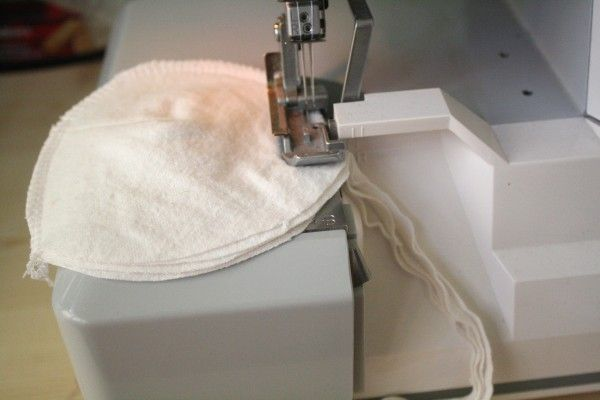 How to make your own nursing pads