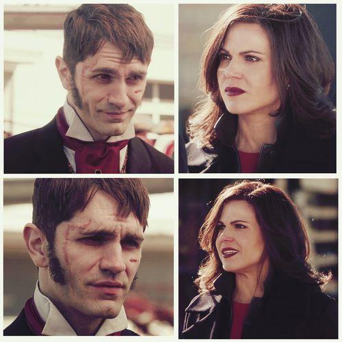 Regina and Mr. Hyde.