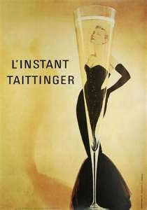 LOVE this oneVintage Posters, Champagne, Picture-Black Posters, Posters Prints, Vintage Wardrobe, Art Prints, Linstant Tait, Art Deco, Vintage Art