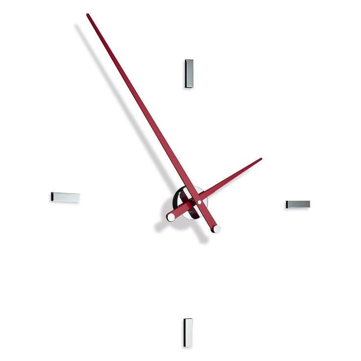 Las 25 mejores ideas sobre reloj moderno en pinterest - Reloj de pared moderno ...