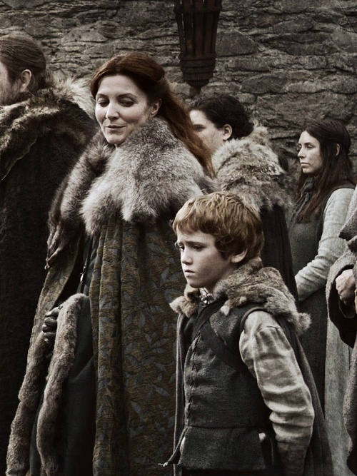 UGH. I will never forgive Cat for leaving Bran and Rickon.
