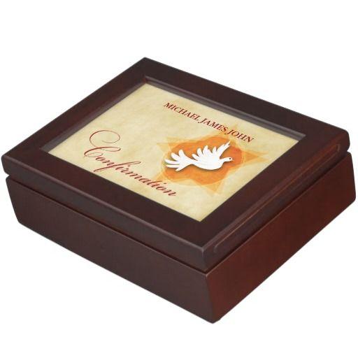 Personalize Confirmation Congratulations Gift Coll Keepsake Box