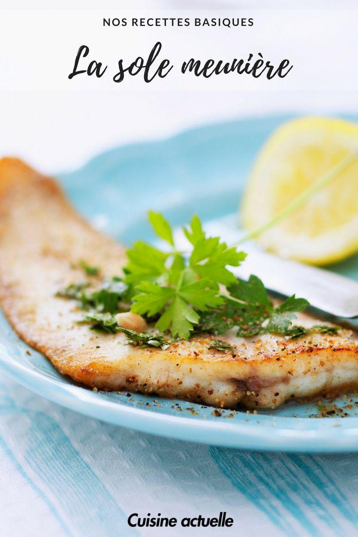 recette sole meunière - recette poisson.  #recette #poisson