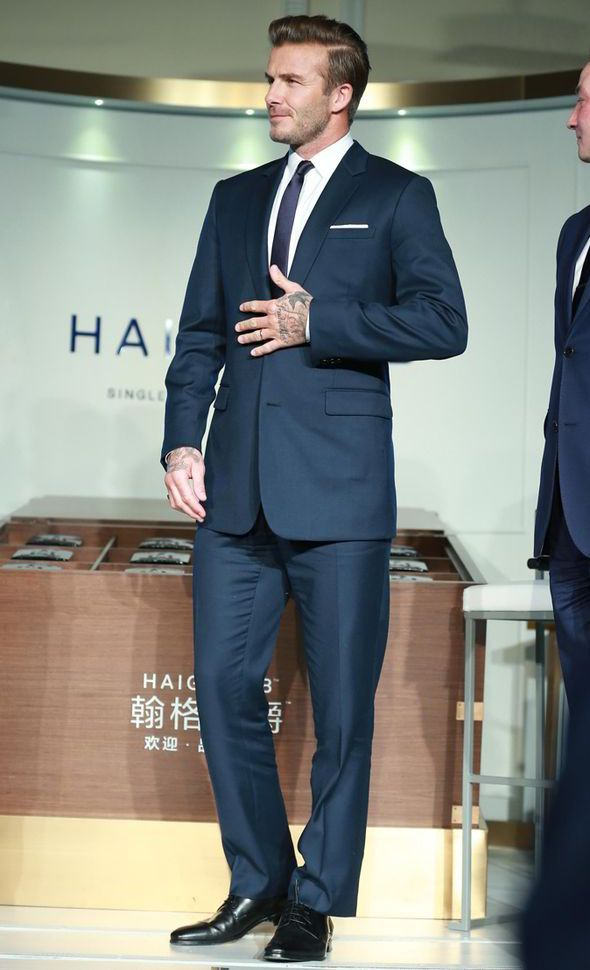 David Beckham Wears Dior Homme to Haig Club Whiskey Launch image David Beckham 002