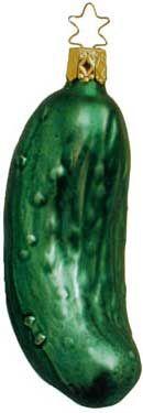 weihnachtsgurke   Christmas pickle