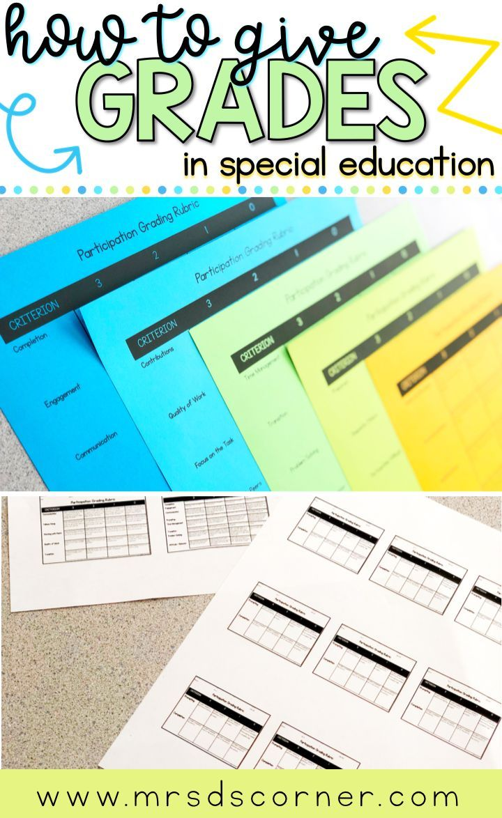 Special Education Is Really Tough >> How To Give Grades In Special Education Mrs D S Sped Tips