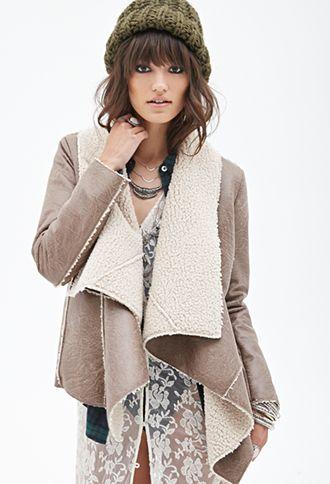 Best 25  Faux shearling jacket ideas on Pinterest | Women's ...