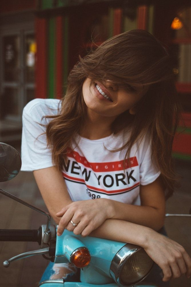Smile & Enjoy what Life Serves You :)  Selected Vintage Clothing Brand 🔱   #womanswear #womancrush