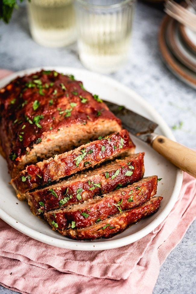 The Best Ground Turkey Meatloaf Recipe Video Foolproof Living Recipe Turkey Meatloaf Recipes Ground Turkey Meatloaf Ground Turkey Meatloaf Recipes
