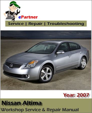 nissan altima 2008 l32 series official car workshop manual repair manual service manual download