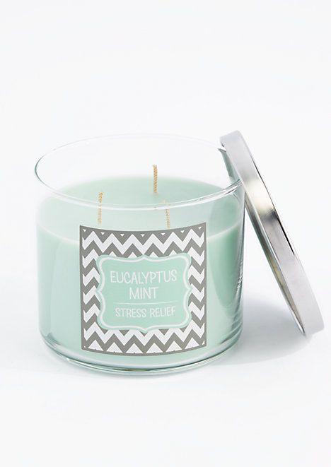 Eucalyptus Mint Scented Candle | rue21