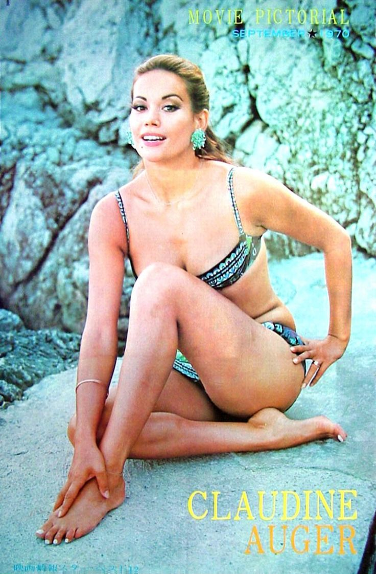 17 Best images about Claudine Auger on Pinterest